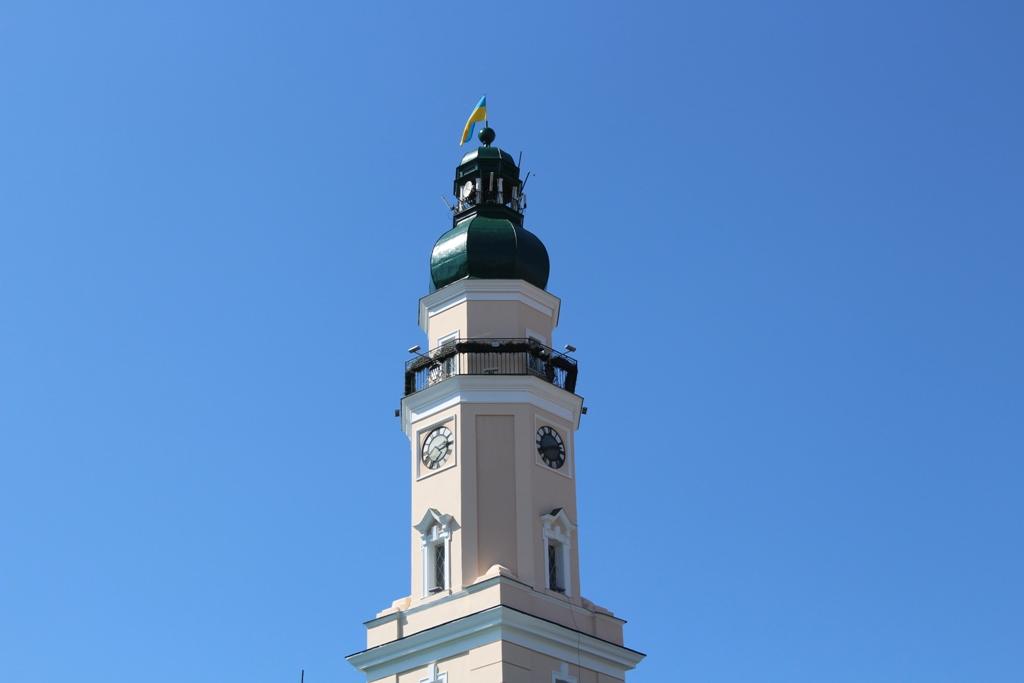Запрошуємо помилуватися древнім Дрогобичем з оновленої Вежі Ратуші. ФОТО