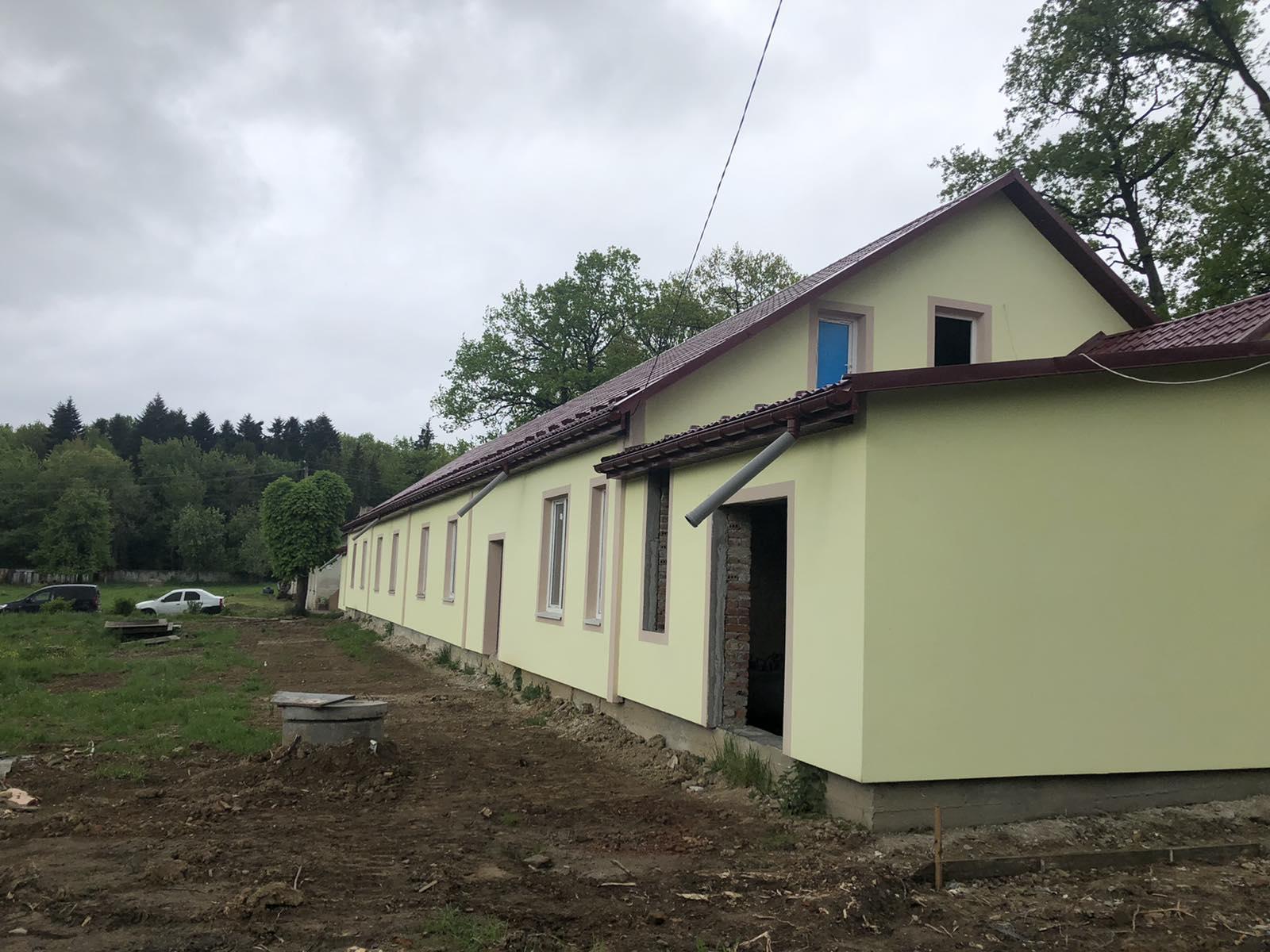 Варте уваги: У Дрогобичі розпочато капітальний ремонт будівлі казарми Національної Гвардії України